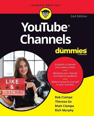 Picture of Youtube Channels for Dummies (2ND ed.)