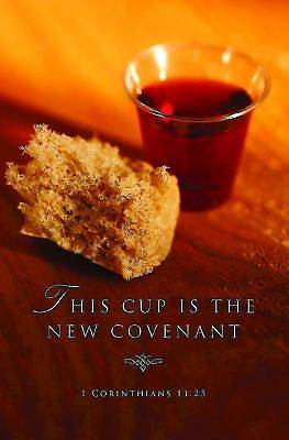 This Cup Communion Bulletin (Pkg of 50)