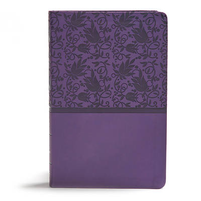 Picture of KJV Giant Print Reference Bible, Purple Leathertouch, Indexed
