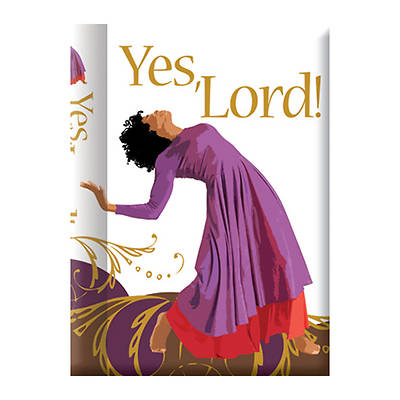 "Picture of ""Yes Lord"" Journal"