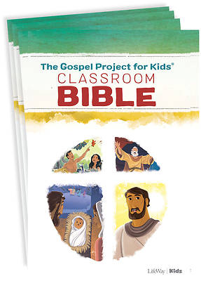 Picture of The Gospel Project for Kids Classroom Bible - Package of 10
