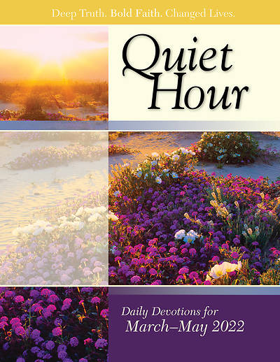 Picture of Bible in Life Adult The Quiet Hour Spring