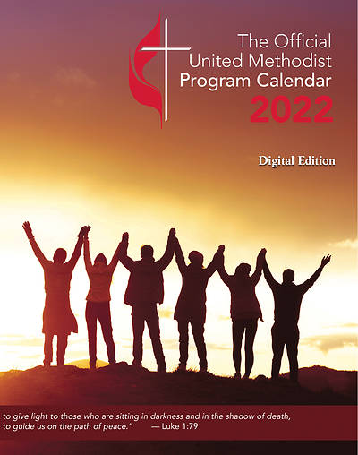Picture of Official United Methodist Program Calendar 2022 Digital Edition