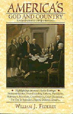 Americas God and Country Encyclopedia of Quotations