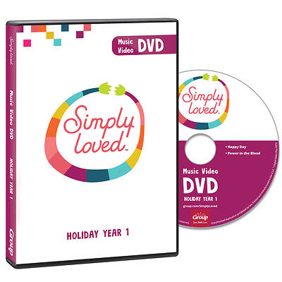 Picture of Simply Loved Holiday PreK-Elem Music DVD Year 1
