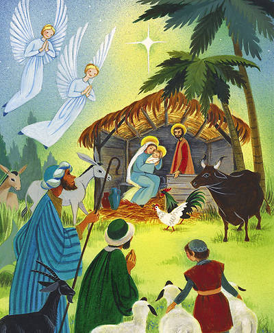 American Folk Art Nativity Bulletin Large (Package of 100)