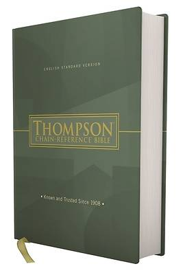 Picture of Esv, Thompson Chain-Reference Bible, Hardcover, Red Letter