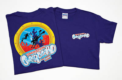 Vacation Bible School 2012 Operation Overboard Leader T-shirt