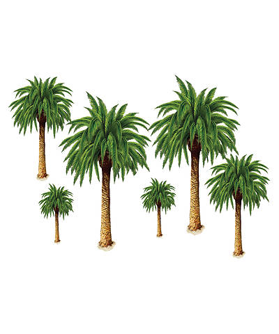 Concordia Vacation Bible School 2012 Amazing Desert Journey Palm Tree Props (pkg 6)