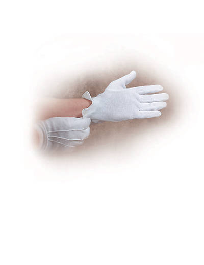 Picture of Gloves Handbell White Large