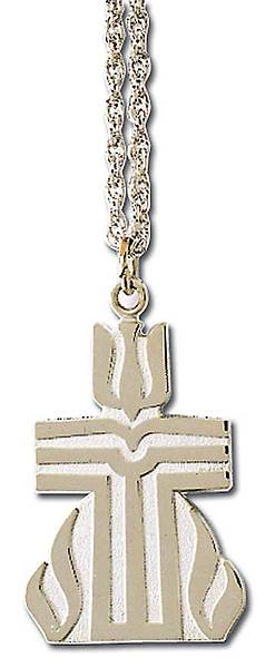 Presbyterian Silver Pendant With Chain
