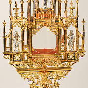 Picture of Koleys K711AL 24K Gold Plated Monstrance