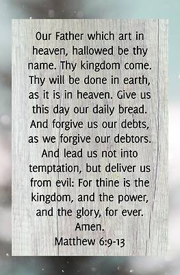 Picture of The Lord's Prayer Bulletin (Pkg 100) General Worship