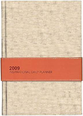 Picture of 2009 Inspirational Daily Planner (Orange Linen)