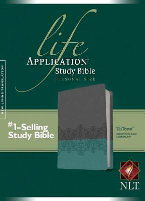 Life Application Study Bible NLT, Personal Size Tutone