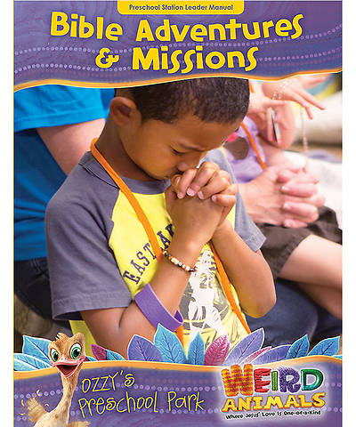 Group VBS 2014 Weird Animals Ozzys Preschool Park Bible Adventures & Missions Leader Manual