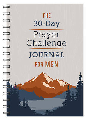 Picture of The 30-Day Prayer Challenge Journal for Men