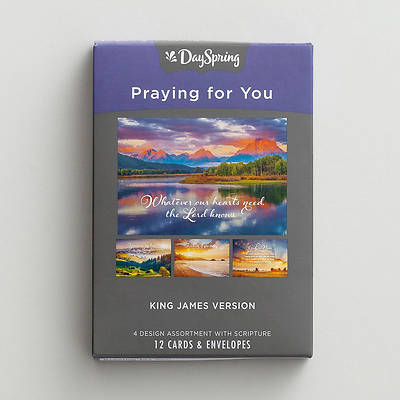 Picture of Praying For You - Heartfelt Expressions Boxed Cards Assorted  (Box 12)
