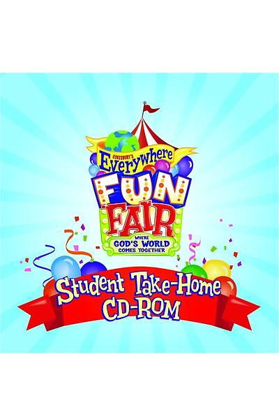 Vacation Bible School 2013 Everywhere Fun Fair Student Take-Home CD-ROM VBS