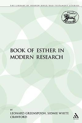 The Book of Esther in Modern Research