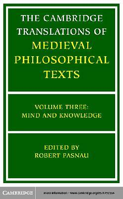 The Cambridge Translations of Medieval Philosophical Texts [Adobe Ebook]