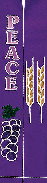 Celebration 4500 Series Purple Stole - 110
