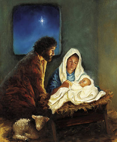 For Unto Us a Child is Born Christmas Bulletin Large (Package of 100)