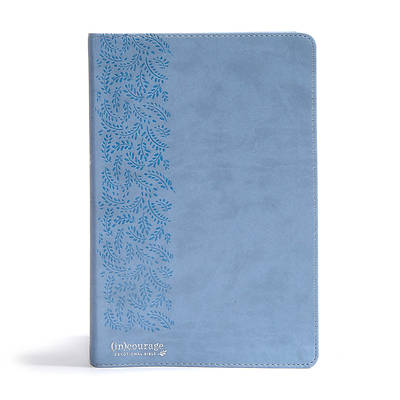 Picture of CSB (In)Courage Devotional Bible, Blue Leathertouch
