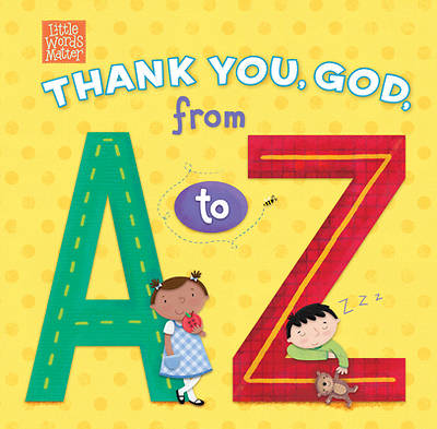 Picture of Thank You, God, from A to Z