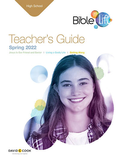 Picture of Bible in Life High School Teacher Guide Spring