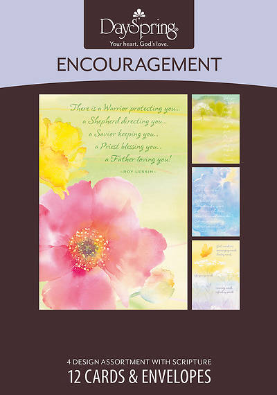 Picture of God's Refuge - Encouragement Boxed Cards - Box of 12