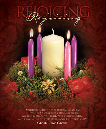 Advent Week 3/Rejoicing Bulletin, Large (Package of 100)