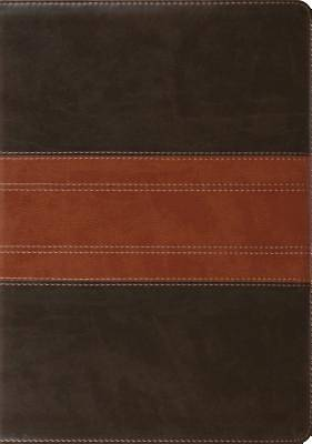 ESV Study Bible (Trutone, Forest/Tan, Trail Design, Indexed)