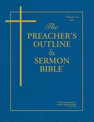 Picture of Preacher's Outline & Sermon Bible-KJV-John