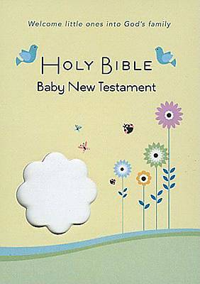 CEB Common English Bible Baby New Testament White