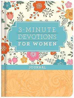 Picture of 3-Minute Devotions for Women Journal