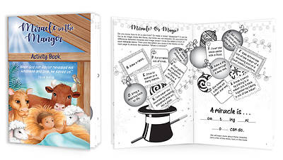 Picture of Miracle in the Manger Christmas Activity Book