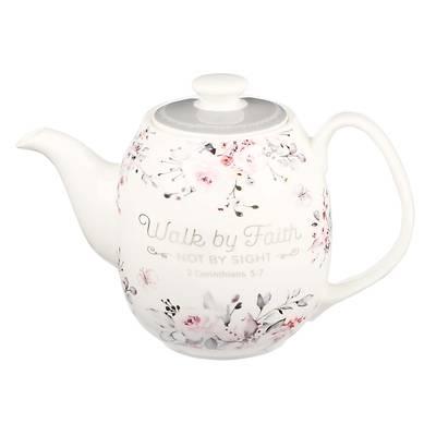 Picture of Teapot Ceramic Walk by Faith 2 Corinthians 5