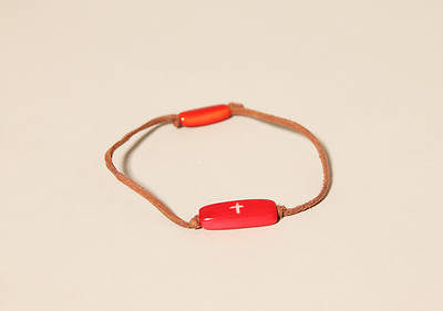 Picture of 1 Wish Bracelet - Red