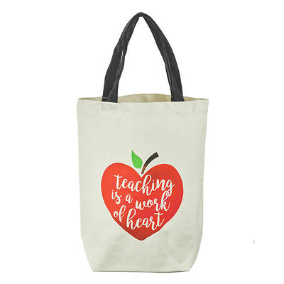 Picture of Teaching is a Work of Heart Tote Bag