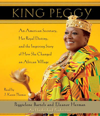 King Peggy Audiobook - CD