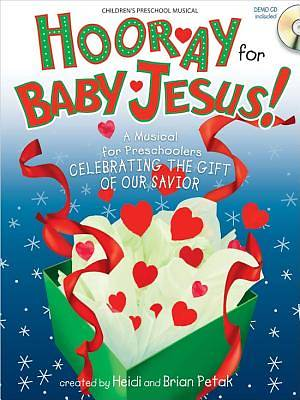 Hooray For Baby Jesus Book with demo CD Preschool