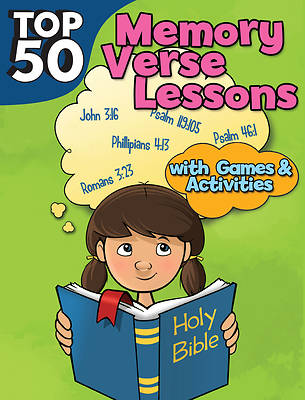 Picture of Top 50 Memory Verses with Games and Activities