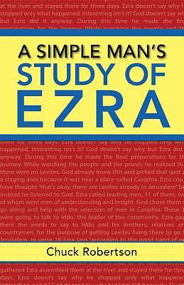 Picture of A Simple Man's Study of Ezra