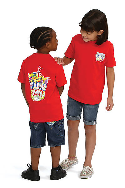 Vacation Bible School 2013 Everywhere Fun Fair Child T-shirt VBS