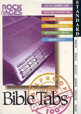 Standard Black Edge Bible Tabs