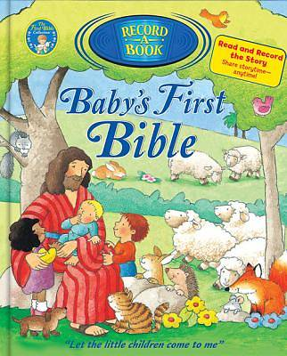 Babys First Bible Record-A-Book