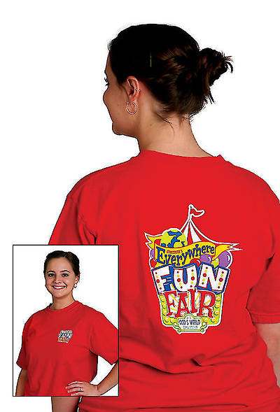Vacation Bible School 2013 Everywhere Fun Fair Leader T-shirt VBS