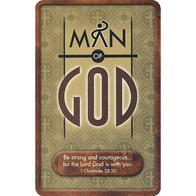 Man of God Pocket Card