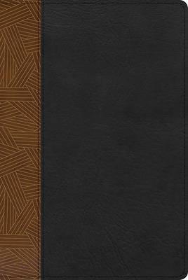 Picture of Rvr 1960 Biblia de Estudio Arco Iris, Tostado/Negro Símil Piel